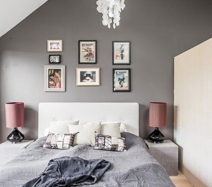 Schlafzimmer Altrosa Braun Bedroom Wall Colors Grey Wall Color Grey Bedroom Furniture