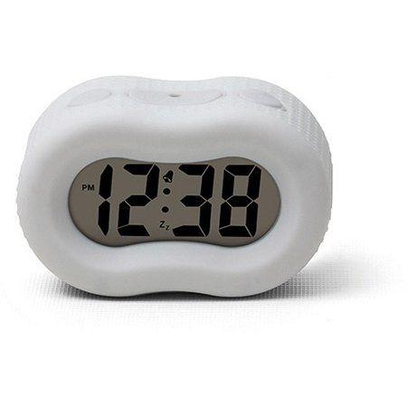 Timelink Rubber Fashion Alarm Clock, Timelink Led Alarm Clock With Multi Color Display
