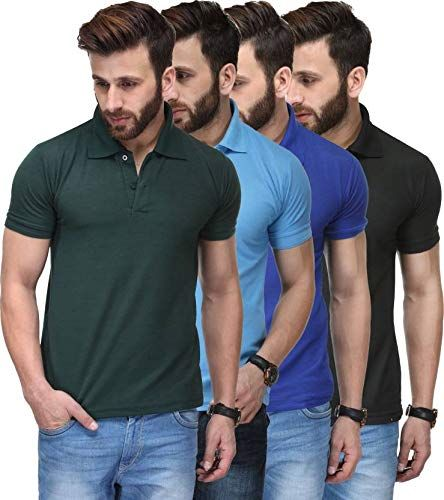 Tnx Soft Premium Cotton Tshirts For Men Combo Pack Of 4 999