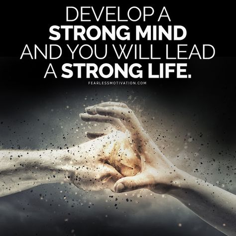 Strong Mind, Strong Life - Motivational Speeches on iTunes, GooglePlay & Spotify!