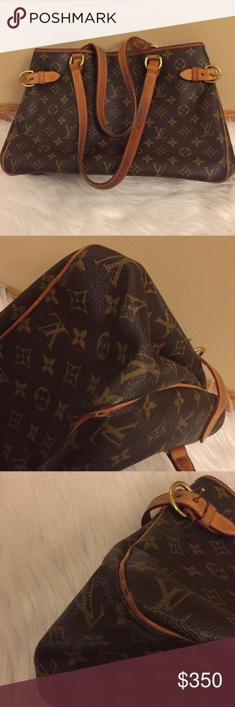 c7e27b652 Authentic Vintage Louis Vuitton Batignolles Bag 💯% Authentic Vintage Louis  Vuitton Batignolles Horizontal Monogram Tote Bag.Monogram canvas has ...