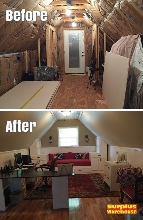 Attic Room Makeover By Shirley T Dothan Al We Bought Our Retirement Home Last Year Which Had An Unfinished Attic Attic Renovation Attic Remodel Attic Rooms