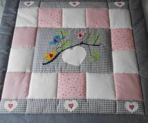 Baby Blanket Quilt Patchwork Blanket Crawl Blanket Children S