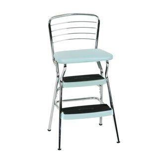 Cosco Stylaire Retro Chair Step Stool With Flip Up Seat N A Gold Chair Stool Retro