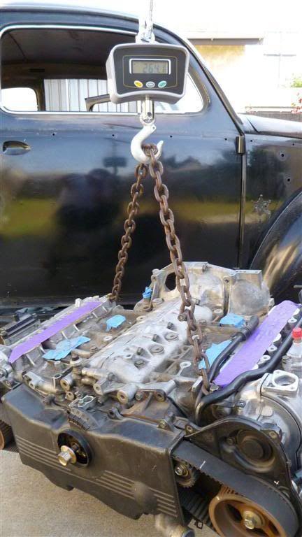 Volks-Swap :: Conversion Pictures :: 67' Bug w/Subaru 3 3L H6