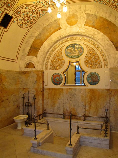 The Lady's Bathroom at Faber Castell Castle, Stein near ...