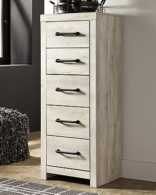 Cambeck King Panel Bed With 4 Storage Drawers Ashley Furniture Homestore In 2020 Narrow Chest Of Drawers Chest Of Drawers Headboard Styles