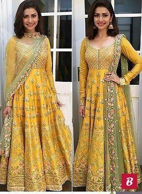 Diwali Indian designer dress sawar kameez ethnic pakistani anarkali wedding
