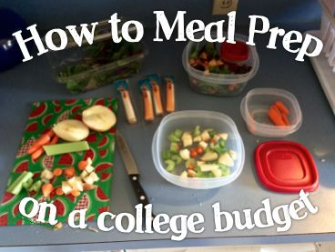 Meal Prep Ideas For College Students Love The Grocery List