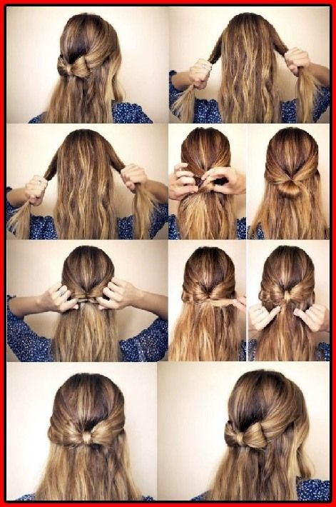 Modische Half Up Half Down Frisuren Haar Anleitungen Fur Frauen Anleitungen Frauen Frisuren Modische Ste Hair Styles Thick Hair Styles Long Hair Styles
