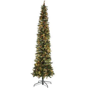 Ultra Slim Bristol Cashmere Pre Lit Christmas Tree 9 Hobby Lobby 5108972 Pre Lit Christmas Tree Pencil Christmas Tree Slim Christmas Tree