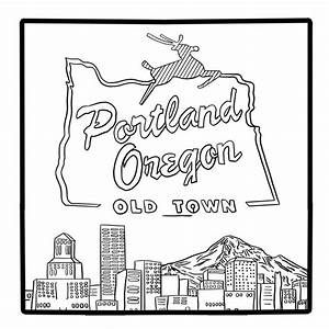 Oregon Coloring Sheets Yahoo Image Search Results Coloring