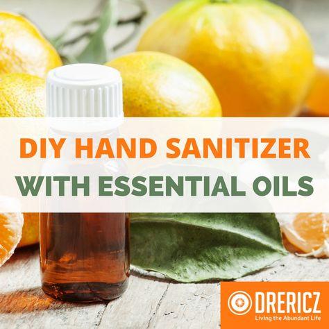 Diy Hand Sanitizer Recipe Essential Oils Detox Essential Oils