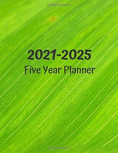 Five Year Planner 2021 2025 60 Months Calendar And Organizer Monthly Planner Plan And Schedule Your Next Five Yea In 2020 Plan Planner Yearly Planner Planner Days fit into a week, into a and these are all the days in a year: five year planner 2021 2025 60 months