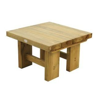 Gorgeous Small Wooden Garden Coffee Table Round Outdoor Dining - Small Round Wooden Garden Coffee Table