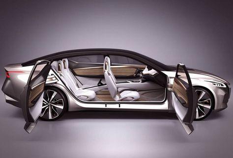 Nissan Vmotion 2 0 Future Sedan Concept Carro Conceito Nissan