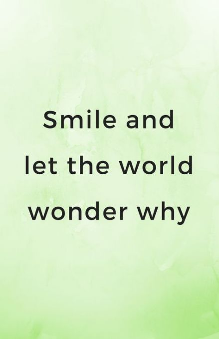 Smile Inspirational Quotes