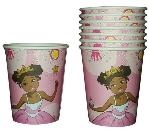 Im a Pretty Princess Deluxe Party Set for 16 Black Party Supplies