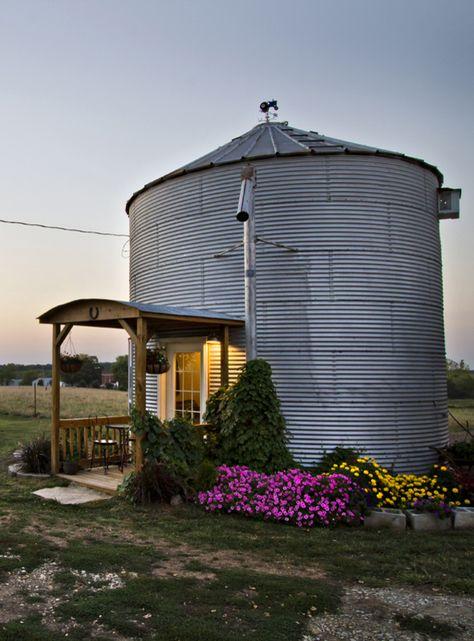 Grain Bin Home
