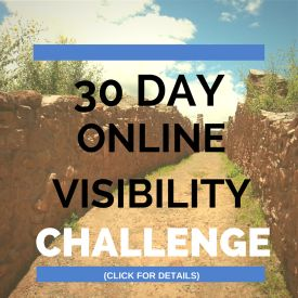 30 Day Online Visibility Challenge | How to Win A Copy of Seth Godin's New Book!  Click to Read More http://denisewakeman.com/online-visibility/30-day-online-visibility-challenge/