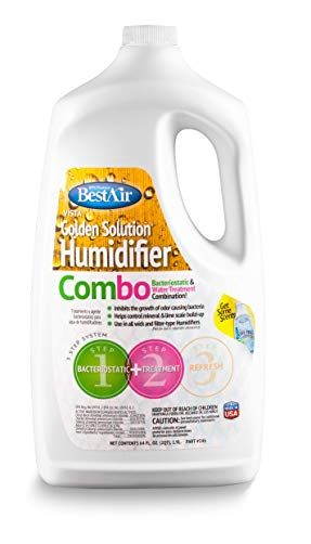 Bestair 246 Pdq 6 Golden Solutions Humidifier Bacteriostatic Water Treatment Combo 64 Fl Oz 6 Pack Review Water Treatment Humidifier Treatment