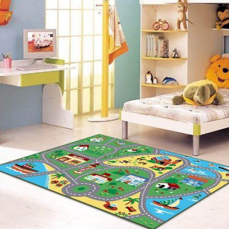 Home Childrens Area Rugs Carpets For Kids Kids Room Rug