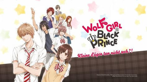 Anime Wolf Girl And Black Prince In 2021 Anime Wolf Girl Anime Wolf Wolf Girl