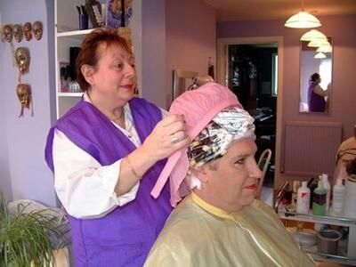 Your Wife Will Be So Happy With Your Feminization Jim Permed Hairstyles Hair And Beauty Salon Perm