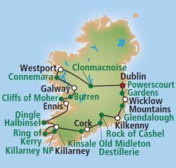 Irland Rundreise Autorundreise Wild Atlantic Way Preise