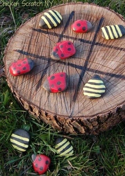 Play tic-tac-toe - DIY Backyard Ideas Your Whole Family will Love - Photos
