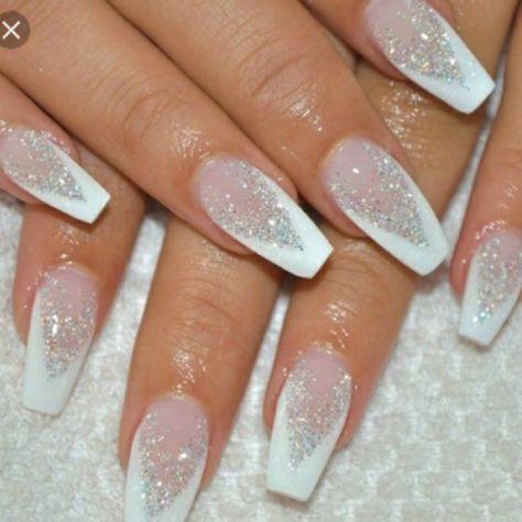Winter Wedding Nails Bridal Nails Nail Art Wedding Gorgeous Nails