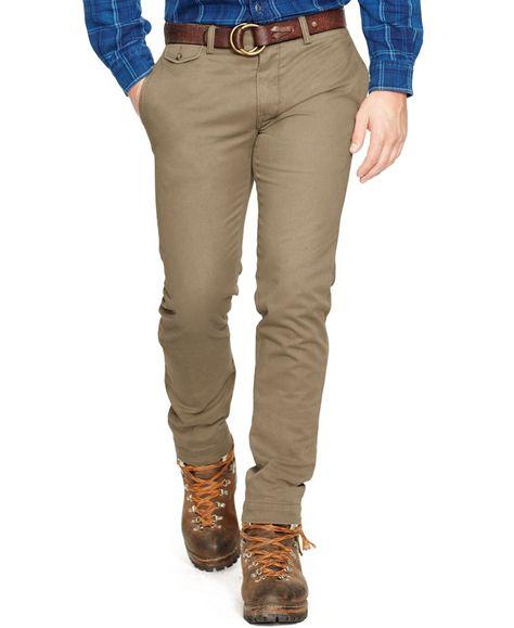 1fd8829b184ea Polo Ralph Lauren Slim-Fit Bedford Chino Pants
