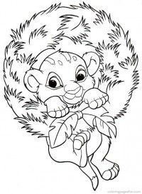 Christmas Disney Coloring Pages 3