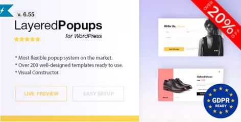 Layered Popups v6.55 - Popup Plugin for WordPress - Themes24x7