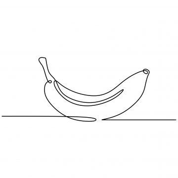 Nepreryvnyj Risunok Linii Banana Fruktov Minimalizm Dizajn Vektornye Illyustracii Banan Klipart Cherno Belyj Banan Vektor Png I Vektor Png Dlya Besplatnoj Zagru Continuous Line Drawing Line Drawing Hand Drawn Vector Illustrations