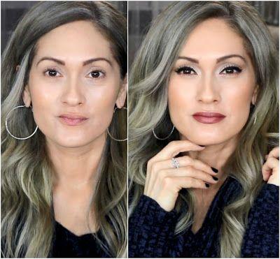 Beauty101byLisa: GRAMMY to GLAMMY Silver/Gray Hair Makeup - VIDEO