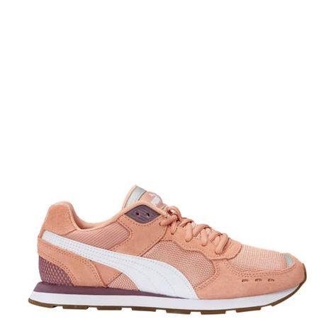 Puma Vista sneakers roze/wit | Sneaker, Comfortabele ...