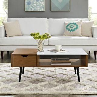 Buy Coffee Console Sofa End Tables Online At Overstock Our Best Living Room Furniture Deals Table Basse Meubles De Salon Modernes Meubles De Salon Blanc