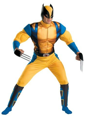 ThisWolverine Origins Costume is a great X-Men adult costume for Halloween.