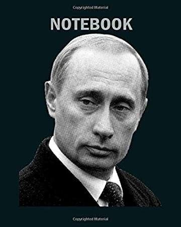 Read Book Notebook Vladimir Putin Newspaper Print 50 Sheets 100 Pages 8 X 10 Inches Ebooks Newspaper Printing Fictional Characters