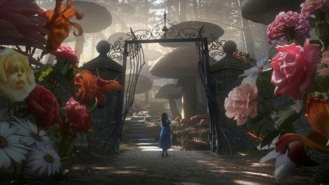 Alice in Wonderland (2010) Desktop Wallpaper | Moviemania