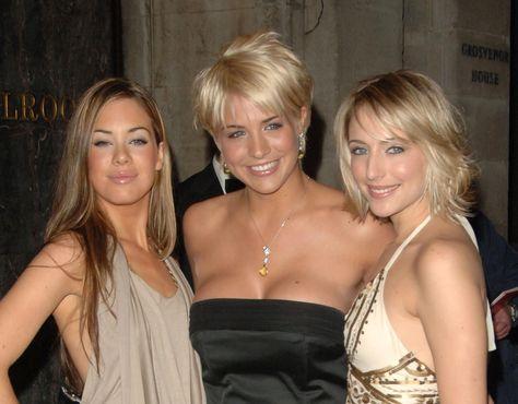 Gemma Atkinson - RTS Awards 14th March 2006 (With Ali Bastian & Roxanne McKee)