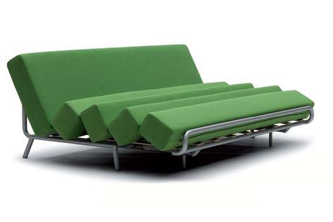 Campeggi - Divano letto Slash | Design: Adrien Rovero | Materiali ...