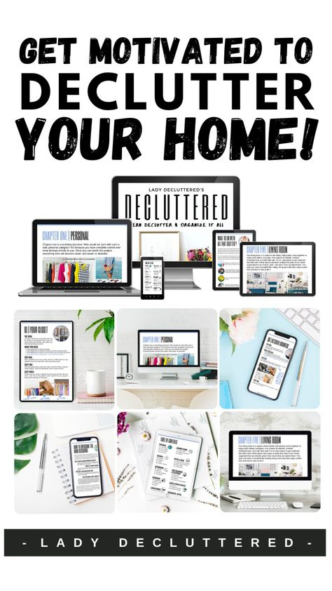 Get Motivated To Declutter Your Home