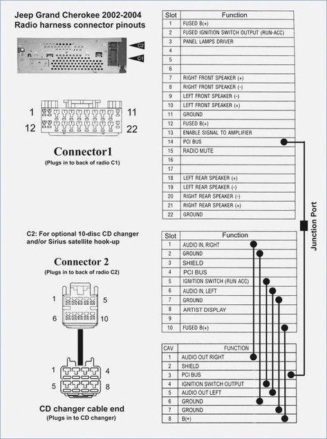 2000 Jeep Grand Cherokee Infinity Stereo Wiring Diagram