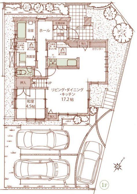 新発売 キッチン横にダイニング がある間取り ヴィスタの丘 49邸