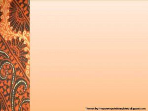 Background Power Point Batik Desain Grafis Latar Belakang Animasi