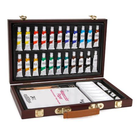 Arts Crafts Sewing Watercolor Paint Set Paint Set Box Art