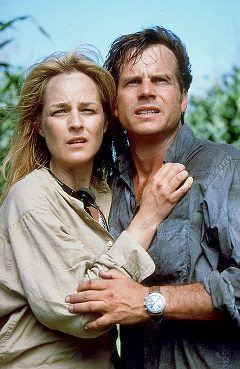 Helen Hunt & Bill Paxton - Twister. And some spectacular special effects, which pretty much saved the movie.