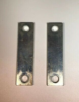 2 Steel Flat Bar Bracket Spacers 1 X 4 X 1 4 Thick W 7 16 Holes Ebay Steel Bracket Angle Bracket